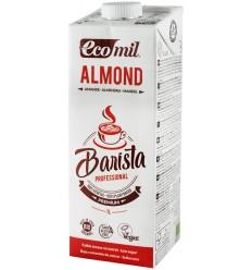 """ECOMIL - """"Barista"""", bautura vegetala bio de migdale pentru cafea, 1L"""
