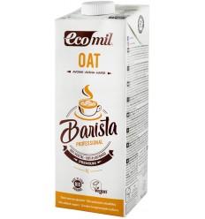 Barista, bautura vegetala bio de ovaz pentru cafea, 1L Ecomil