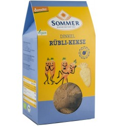 Sommer – Biscuiți bio din alac fara zahar, cu morcovi, Demeter 150 gr