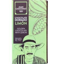 Ciocolata alba cu lamaie, 65g Juan Choconat