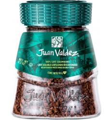 Cafea solubila liofilizata decofeinizata 95g Juan Valdez
