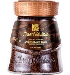 Cafea solubila liofilizata clasica 95g Juan Valdez