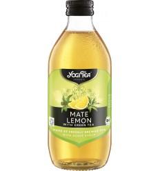 Yogi Tea – Preparat BIO din ceai mate si lamaie cu ceai verde, 330 ml