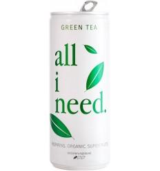 All I Need - Băutură bio cu ceai verde și superfructe, 250ml
