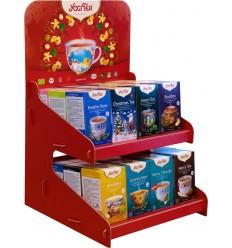 Display carton pentru servire ceai Yogi Tea