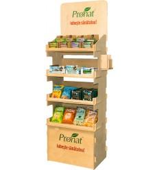 Stand carton  pentru condimente LEBENSBAUM