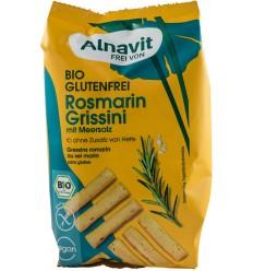 Alnavit - Mini grisine cu rozmarin și sare de mare, 100g