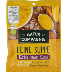 Natur Compagnie – Supa bio de dovleac, ghimbir si cocos, 40g