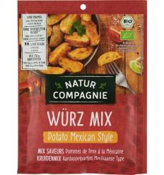 Natur Compagnie - Mexican Style - Amestec de condimente mexicane, BIO, pentru cartofi, 35g