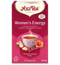 Ceai Bio ENERGIE PENTRU FEMEI, 17 PLICULETE X 1.8 G, (30.6 G) Yogi Tea