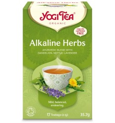 Ceai BIO DIN PLANTE ALCALINE, 17 PLICULETE X 2.1 G, (35.7 G) Yogi Tea