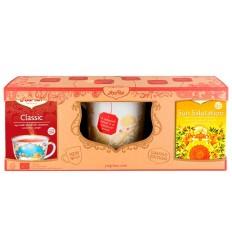 PACHET YOGI TEA, 2 CUTII DE CEAI BIO + CANA