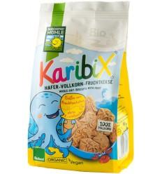 Bohlsener Mühle – Karibix biscuiti BIO din faina integrala de ovaz, cu fructe, 150g