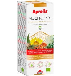 MUCPROPOL – SIROP BIO DE TUSE CU PROPOLIS SI GRINDELIA, 250 ML APROLIS