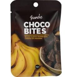 Banane deshidratate invelite in ciocolata bio, 30g Juan Valdez