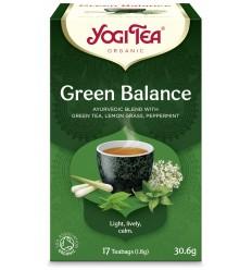 Ceai Bio ECHILIBRU VERDE Yogi Tea