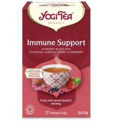Ceai Bio SPRIJIN IMUNITAR, 17 pliculete - 34.0 g Yogi Tea