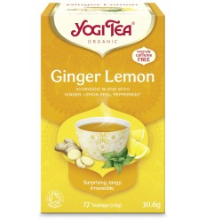 Ceai Bio GHIMBIR şi LĂMÂIE Yogi Tea
