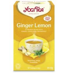 Ceai Bio GHIMBIR si lamaie, 17 pliculete - 30.6gr Yogi Tea