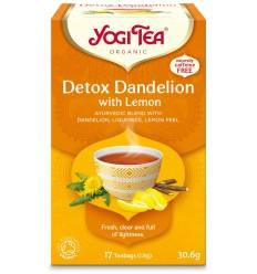 Ceai BIO detoxifiant cu lamaie Yogi Tea® 30 g