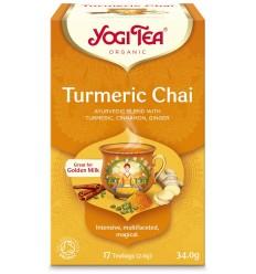 Ceai Bio cu TURMERIC Yogi Tea