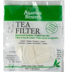 Filtru din bumbac pentru ceai