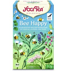 CEAI BIO BEE HAPPY 17 PLICULEȚE x 1,9G (32,3G) YOGI TEA