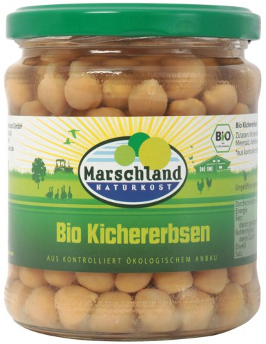 Naut bio, 330 g/220 g Marschland...