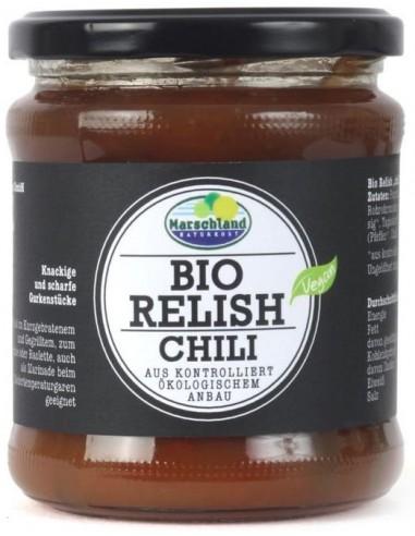 Sos bio Relish cu chilli, 325 g...