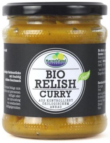 Sos bio Relish cu curry, 325 g...