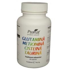 Glutamina-metionina-Cisteina-Taurina 60 capsule