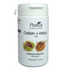 Castan + Hrisca plus 60 capsule