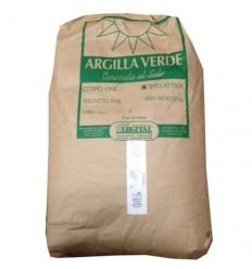 Argilă verde fină, pentru uz extern, 25 kg