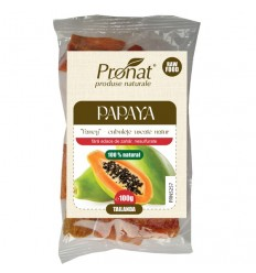 "Papaya ""Fancy"" - uscate natur, 100 g"