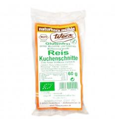 Prajitura ecologica cu faina integrala de orez, 60 g