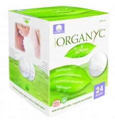 Dischete Organyc din bumbac organic pentru sani-24 buc