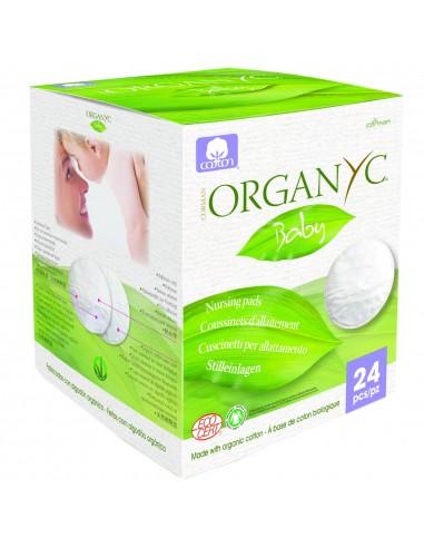 Dischete Organyc din bumbac organic pentru sani-24 buc.