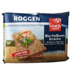Pâine BIO crocantă din făină integrală de secară– 200 g