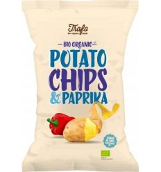 TRAFO - Chipsuri ecologice cu paprika, 40 g