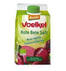 Suc BIO de sfecla rosie lactofermentat, 0,5 l VOELKEL