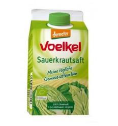 VOELKEL - Suc ecologic de varza acra lactofermentat, 0.5 l