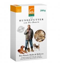 Defu BIO Gustare pentru câini – Pui & Morcovi & Fenicul – 200 g