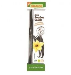 BIOVEGAN - Betisoare BIO de vanilie Bourbon, 2 buc