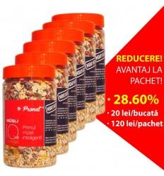 Pachet 28,60% reducere 6x Musli IQ, 500 G