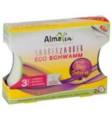 ALMAWIN- burete bio pentru spălat vase, 2 buc