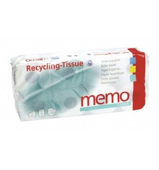 Memo CLEAN- hârtie igienică din hârtie reciclată cu 2 straturi, 8 buc