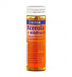 Hoyer – Acerola și fructe de pădure - Tablete Masticabile, 60 de Tablete