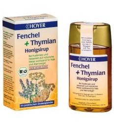 Hoyer – Sirop de miere cu fenicul și cimbru 250g