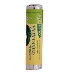 Frusano - Bomboane BIO cu mentă, 21 g