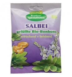 LIEBHART'S – Dropsuri Bio cu salvie, fără zahăr, 50 g